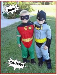 Batman Robin Halloween Costumes Girls Ten Halloween Costumes Twins