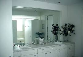 Mirrored Bathroom Walls Large Rectangular Bathroom Mirrors Large Vanity Freestanding