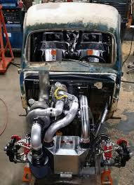 1949 ford f 1 with a 1 200 hp 5 9 l cummins inline six bikes and