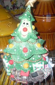 56 best christmas tree cookie jars images on pinterest
