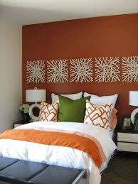 Best  Orange Accent Walls Ideas On Pinterest Paint Ideas For - Decorative wall painting ideas for bedroom