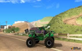 grave digger monster truck games monster truck grave digger v 2 0 final for gta san andreas