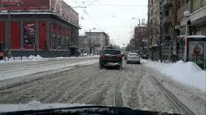 winter in bulgaria sofia city