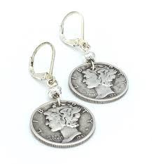 liberty earrings vintage liberty dime earrings bija bijoux online