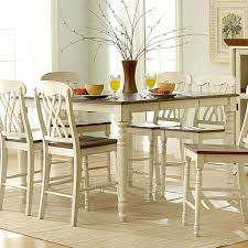 counter height dining table with leaf coaster cabrillo counter height dining table with leaf coaster