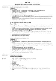 resume templates administrative coordinator ii salary finder for jobs sales administration resume sles velvet jobs