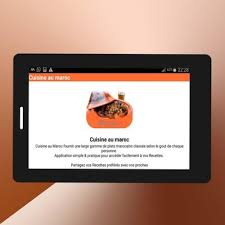 application android cuisine cuisine au maroc for android apk