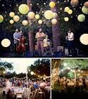 Simple Outdoor Wedding Decor - big easy wedding