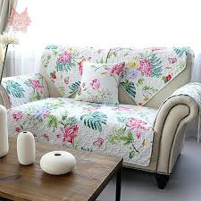 sofa in enchanting floral print sofas upholstered sleeper sofa in a