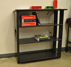 Free Standing Wood Shelves Plans by Decoration Ideas Appealing Ideas With Black Wood Finish