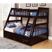 american furniture classics twin over full wood bunk bed with