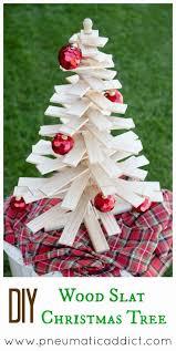 diy wood slat christmas tree 6 u0027 tall or table top cut lists