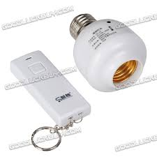 remote control on off light switch remote control e27 light bulb adapter on off switch button rc socket