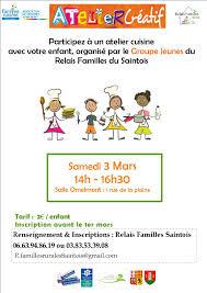 atelier cuisine parent enfant familles rurales de ceintrey voinémont