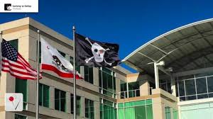 Picture Of A Pirate Flag Here U0027s Why Apple Is Flying A Pirate Flag Over Its Headquarters