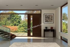 Modern Doors Gallery Of Contemporary Modern Wood Front Entry Doors By Foret