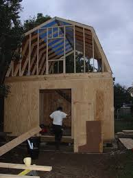 Plan To Build A House by How To Build A Two Story Shed With A Lot Of Help Building