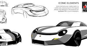 porsche concept sketch porsche 901 concept render is a stunning tribute to the legendary 911