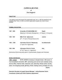 Resume For Restaurant Cashier Detailed Resume Lukex Co