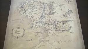 Map Indy Middle Earth Map By Indy Magnoli Magnoliprops Youtube