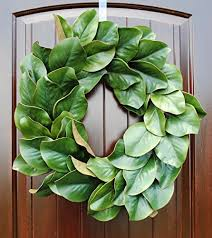 magnolia wreath for thanksgiving and