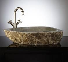 bathrooms design stone bathroom basins marble vessel sink