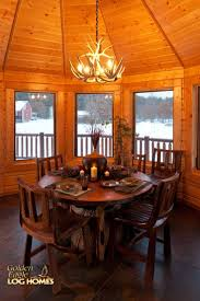 Log Dining Room Table by 64 Best Collection Exterior Views Of Log Homes Images On