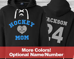 hockey mom shirt etsy