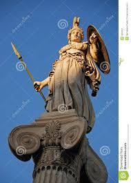 God Statue Athena God Statue Stock Image Image 3552931