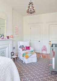 pink and gray nursery transitional nursery the brooklyn home