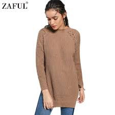 warm winter sweaters zaful solid sweater knitted jumpers pullovers