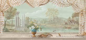 Trompe L Oeil Wallpaper by Martin U0026 Fowler Studios Trompe L U0027oeil Gallery