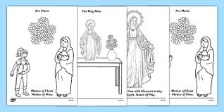 hail mary coloring pages letter to mary catholic coloring page