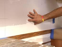How To Install A Glass Tile Backsplash In The Kitchen Remarkable Lovely Installing Glass Tile Backsplash Installing A