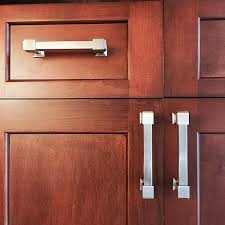 Kitchen Cabinet Pulls And Handles Southern Hills Brushed Nickel Drawer Pulls 4 Inch Spacing