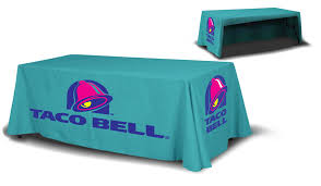 table banners and signs fabric textile table throw los angeles signs
