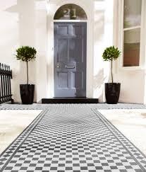 victorian black white border tile topps tiles