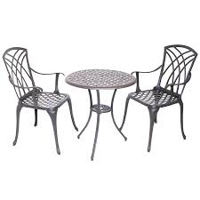 Cast Iron Patio Set Table Chairs Garden Furniture by Bistro U0026 Patio Sets Garden Furniture Robert Dyas