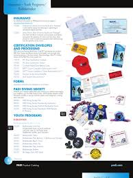 2008 padi product catalog upload2 scuba diving underwater diving