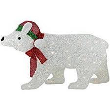 White Polar Bear Christmas Decorations by Christmas Decoration Inspiration White Christmas Yard Decorations