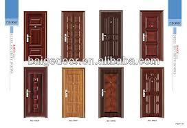 Safety Door Design Bg S9080 Steel Safety Iron Main Door Design Buy Steel Safety