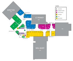 The Florida Mall Map by Architecture Branding Payless Shoesource Ties Up Its Expansive