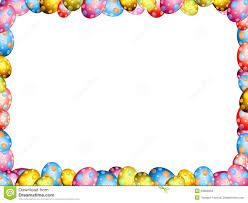 easter border clip art many interesting cliparts