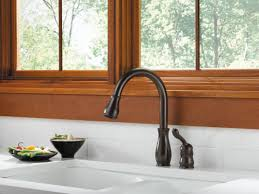 delta waterfall kitchen faucet faucet 978 we dst sd in chrome by delta