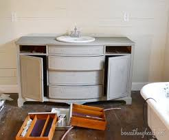 Painting Bathroom Cabinets Ideas How I Painted My Vanity With Annie Sloan Chalk Paint Beneath My