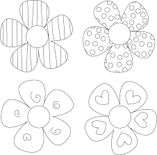 diy flower tutorials you must try flower template pattern