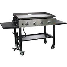 blackstone griddle surround table blackstone 36 inch liquid propane gas griddle stainless steel rc