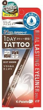 k palette 1 day real lasting eyeliner wp 101