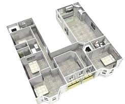 House Plans With Courtyard by U Shaped House Plans U Shaped House Plans House Beautifull