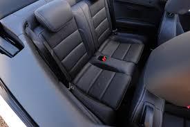 Vw Golf R Seats Vw Golf R Cabriolet Pictures Vw Golf R Cabriolet Front Cornering